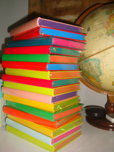 Our Story Begins yellow plain diary / hardbound notebook nice gift idea