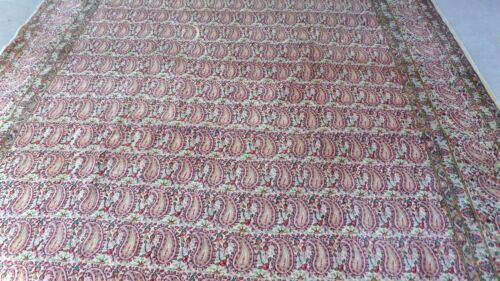 Antique Hand Knotted Senneh Rug 9 x12