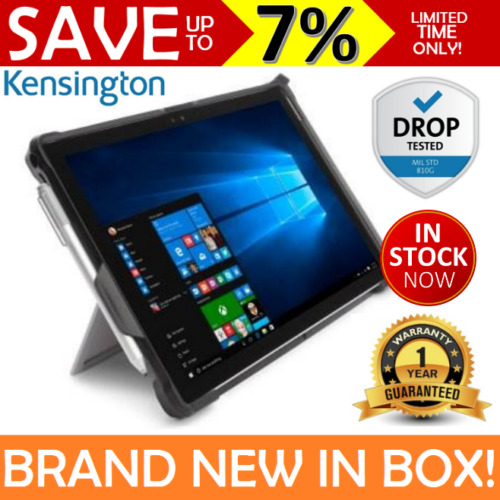 NEW KENSINGTON Rugged Case Microsoft Surface PRO 7/6/5/4 Blackbelt 2nd Degree