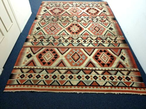 Old Turkish Kilim in Large Size …beautiful accent and collection piece