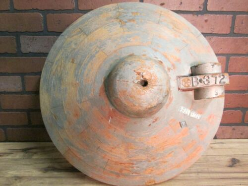 """Vintage Industrial Wooden Foundry  Mold 21""""  by 11"""" Deep  Early 1900's"""
