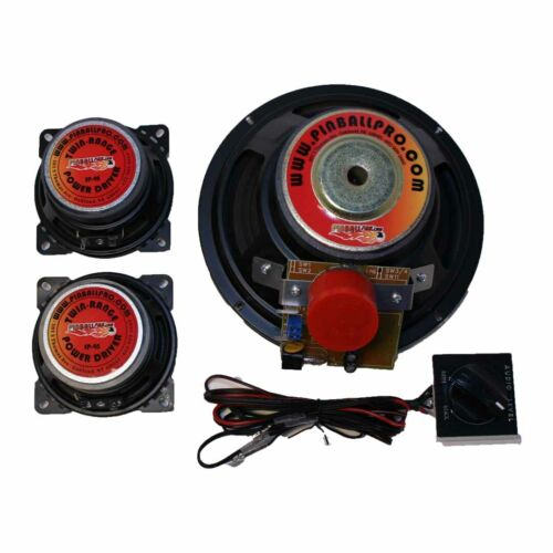 Top Holiday Gifts Stern AC/DC Pro pinball machine speaker kit from Pinball Pro