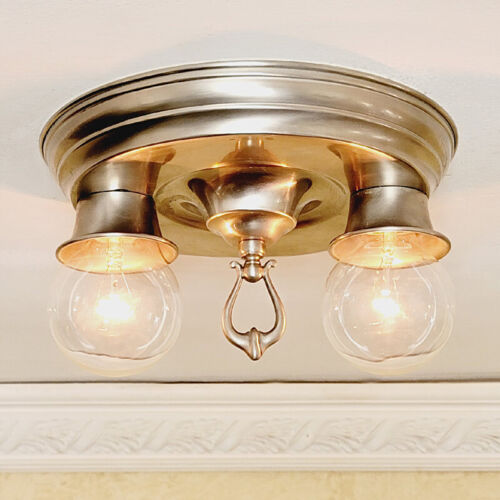 866b Vintage Antique Ceiling Light Chandelier H Quality Stainless steel pewter