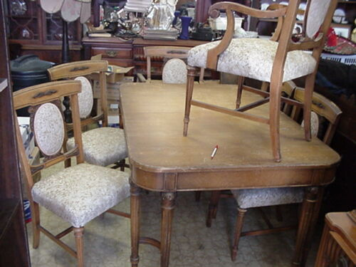 Watertown Slide French Country Light Mahogany Dinning Vintage Set Watertown WI