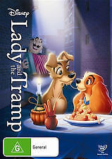 LADY AND THE TRAMP - BRAND NEW & SEALED DISNEY DVD