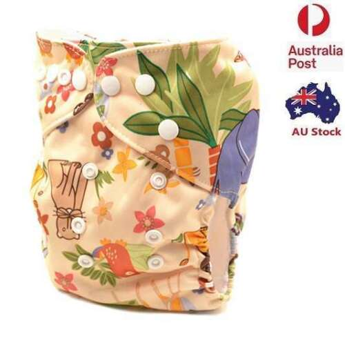 Modern Cloth Nappies Unisex Cloth Nappy Cloth Diaper With Pocket Liners (D32)
