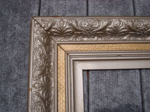 "Victorian Picture Frame Antique Gesso  21"" X 15 1/4"""