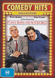 PLANES, TRAINS & AUTOMOBILES - BRAND NEW & SEALED DVD (STEVE MARTIN, JOHN CANDY)