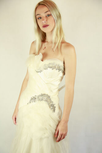 NWT - Stunning Gemy Maalouf Couture Bridal Gown RRP $4500+