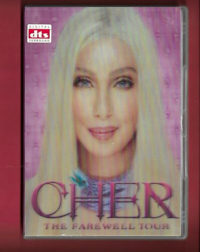 Cher Dvd (Holgram/3D cover) - The Farewell Tour