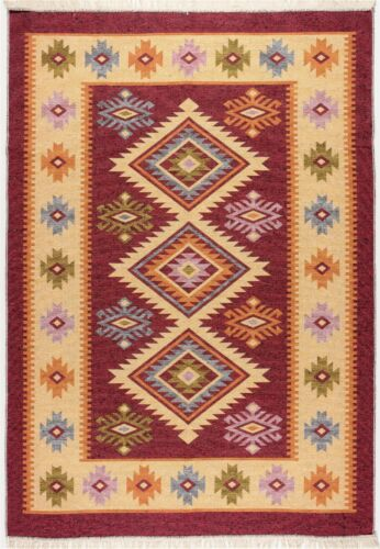 Limited Time Promotional Traditional Turkish Kilim High Quality Red / Beige Rug