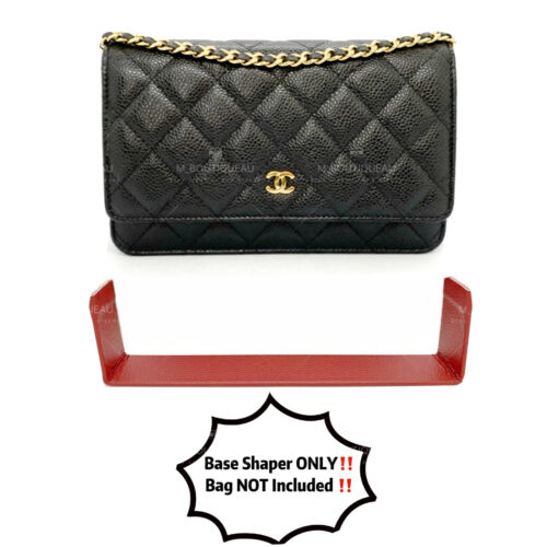 Bag Insert Base / Side Protector Shaper Saver For Chanel Wallet On Chain WOC <br/> Listing for Insert ONLY. Wallet is NOT included.