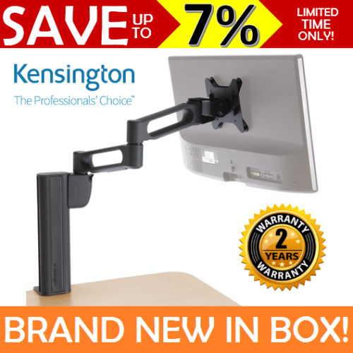 NEW KENSINGTON SmartFit Extendable Monitor Arm Stand Mount Height Adjustable