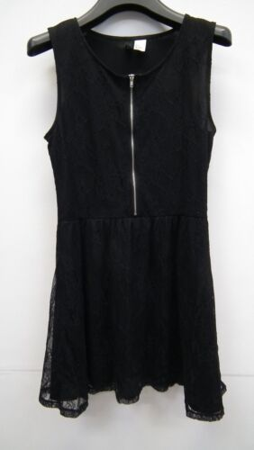 Black Lace Sleeveless Dress from H&M size S