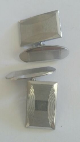 Silver toned Cufflinks Vintage?