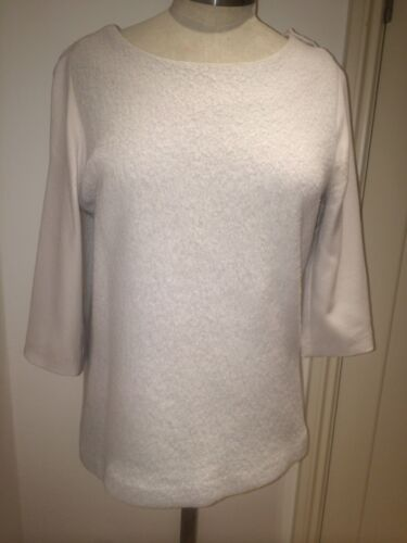 Original TSUMORI CHISATO Angora Cream Top - SIZE 1 (SMALL - MEDIUM)