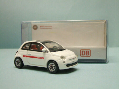 Norev - FIAT NUOVA 500 DB Carsharing blanche Voiture 770038 Neuf NBO HO 1/87