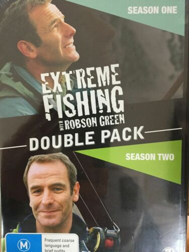 Extreme Fishing with Robson Green Double Pack - Season 1 and 2 - Region 4