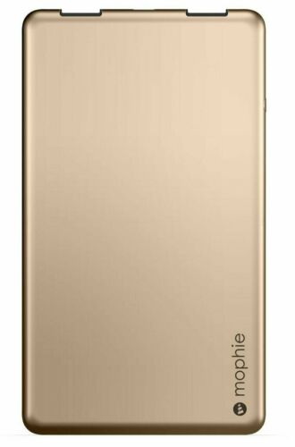 Ultra-slim mophie Powerstation 3X for Smartphones and Tablets (6,000 mAh)-Gold