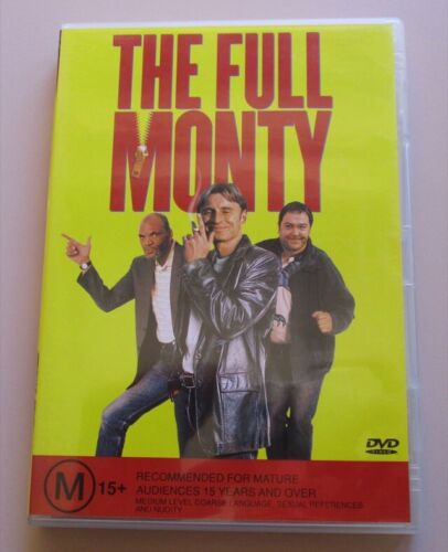 DVD - The Full Monty - Robert Carlyle - Tom Wilkinson - Mark Addy