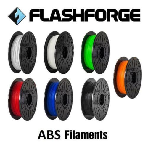 Flashforge ABS 3D Printer Filament 1.75mm 1Kg for Creator Pro/Guider + Others