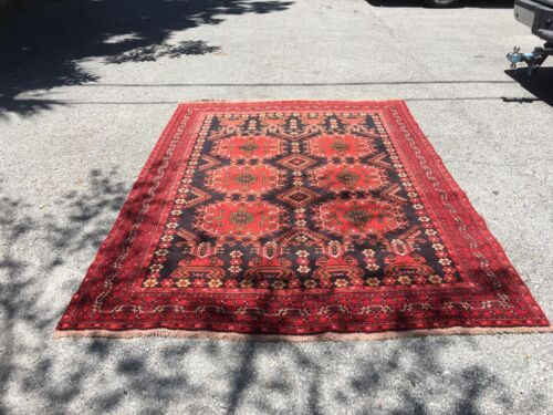Antique Hand-knotted Rug 6' X 8' Stunning