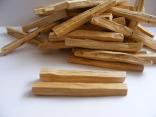 25 x PALO SANTO🌕 Holy Clearing INCENSE sticks ORGANIC & WILD COLLECTED🌕