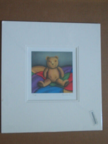 Paul Horton Billy the Bear is a Limited Edition Matted Signed and Numbered