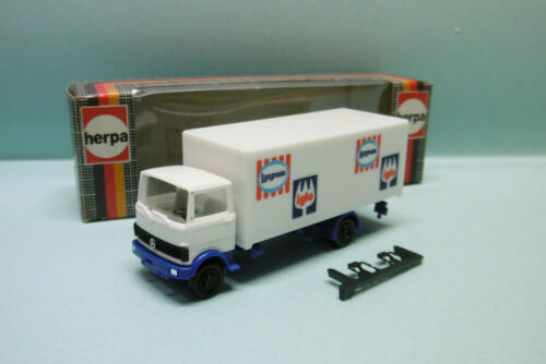 Herpa - CAMION MERCEDES BENZ Langnese Iglo réf. 814390 Neuf NBO HO 1/87