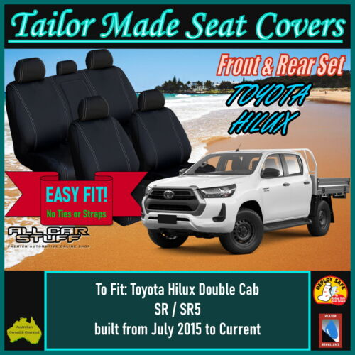 Manual Transmission TOYOTA HILUX MK8 DOUBLE CAB 2016 ON 3D TAILORED FIT MATS