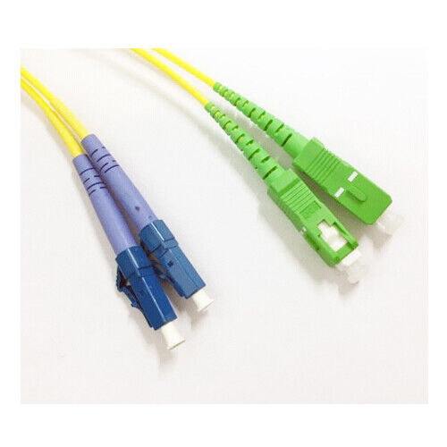 SC to LC Single Mode Fibre Optic Patch Lead Cable 5m
