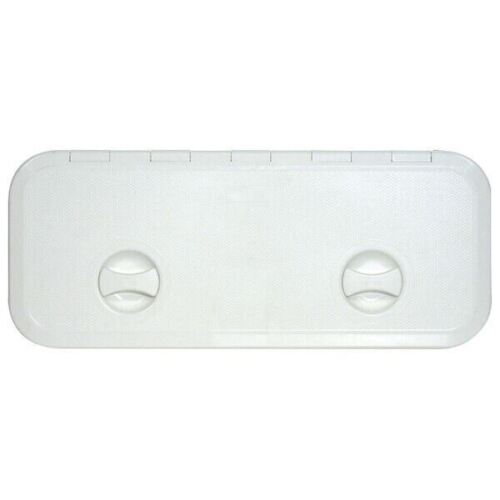 Access Hatch Grey Lockable Boat Storage Hatch 380 x 380mm Marine Deck,