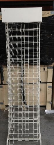 A3 metal/wire paper/board display rack 20 shelves