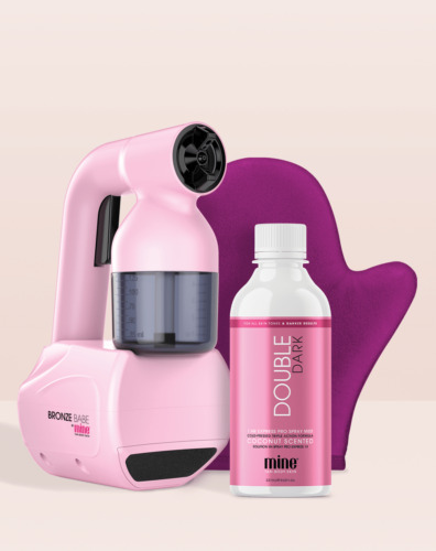 Bronze Babe Personal Spray Tan Kit - Pink Limited Edition