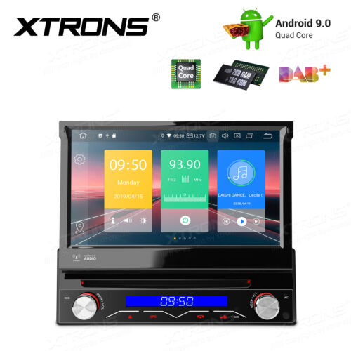 """7"""" Android 9.0 1-DIN Car DVD Player Stereo Radio GPS 2+16G DAB+ OBD2 Multimedia"""