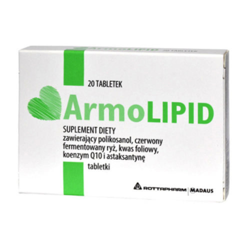 ArmoLipid 20 tabs - maintain normal blood cholesterol levels - ARMO LIPID <br/> BUY FROM REGISTERED PHARMACY NOT RANDOM EABY SELLERS!!!