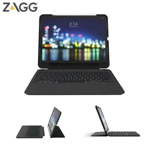 ZAGG Slim Book Go Keyboard Case for Apple iPad Pro 12.9 3rd Gen 2018 Pencil Hold