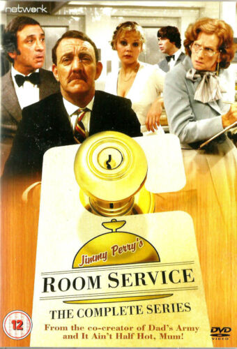 Jimmy Perry's ROOM SERVICE *New & SEALED* Region 2 Pilot + 7 Episodes