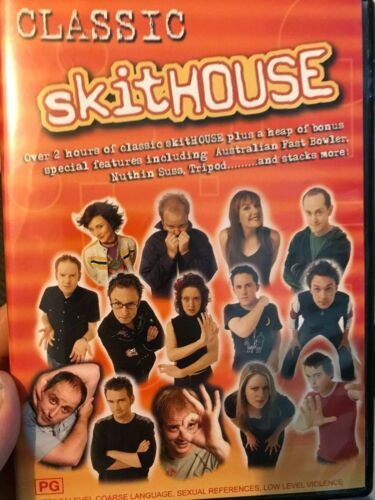 Classic Skithouse region 4 DVD (Australian sketch comedy tv series)