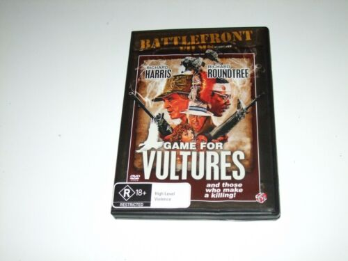 Game For Vultures - DVD **Free Postage** (Richard Harris Richard Roundtree)