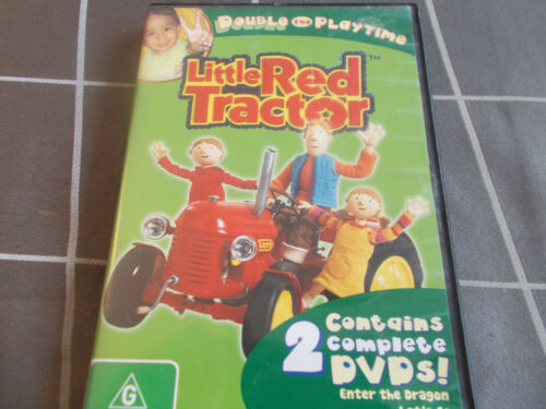 LITTLE RED TRACTOR 2 disc anim 'Let's Go' & 'Enter The Dragon'  region 4 DVD