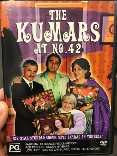 The Kumars At No. 42 region 4 DVD (comedy TV series) contains 6 episodes
