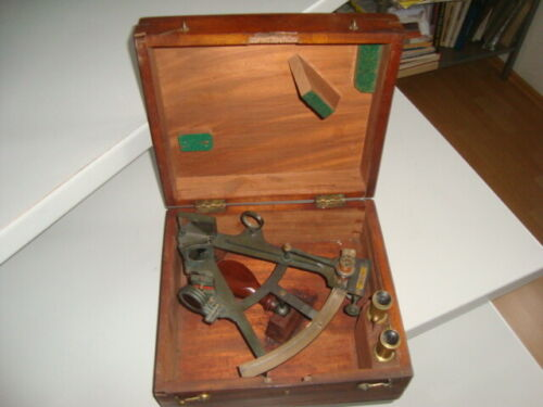 VERY RARE  NAVY MARINE BRONZE SEXTANT sexstan H.G. Blair and Co