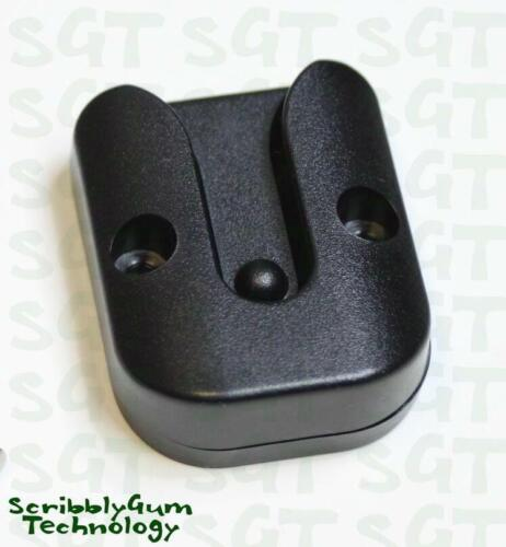 UHF/CB Microphone Holder Clip - Plastic Suits Uniden, GME, Etc