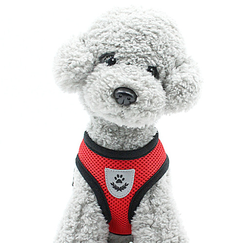 Pet Control SMALL Dog Harness Soft DOUBLE Mesh Walk Collar Safety Strap Vest XS <br/> #1 TOP TRUSTED U.S. SELLER - Ships Same Day - USA BASED