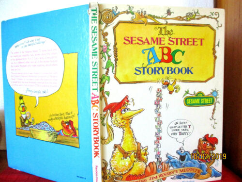 THE SESAME STREET ABC STORYBOOK featuring Jim Henson's Muppets 1974 HC