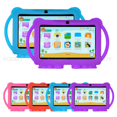 """XGODY 7"""" IPS Android 8.1 16GB Tablet PC Bundle Case Bluetooth HD Gift for Kids"""