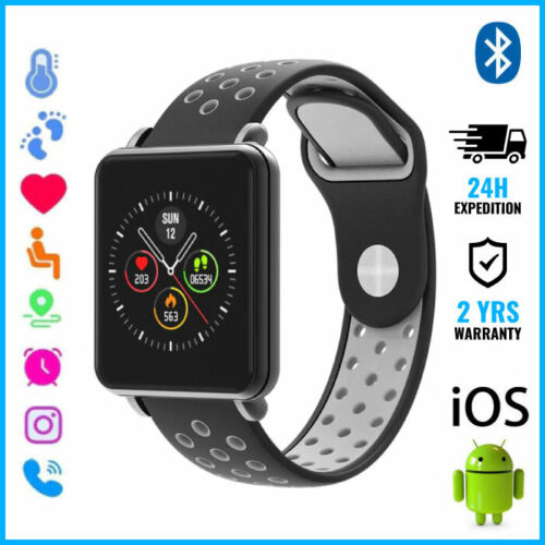 COLMI Land 1 Smart Watch Montre Bluetooth SIM Slot Android iOS Gray Two-Tone