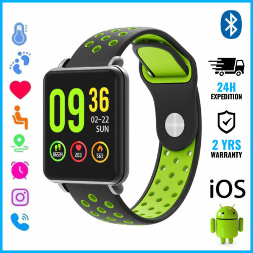 COLMI Land 1 Smart Watch Montre Bluetooth SIM Slot Android iOS Green Two-Tone