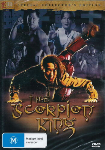 The Scorpion King - Action / Adventure / Martial Arts - Chin Kar Lok - NEW DVD